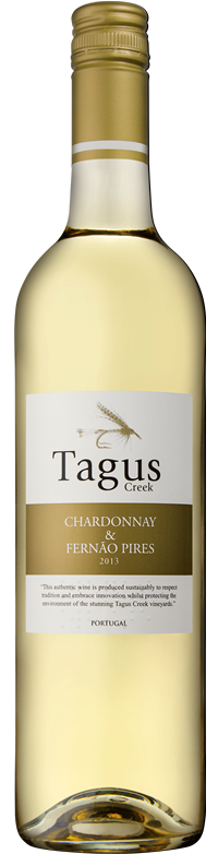 Tagus Creek Chardonnay and Fernão Pires 2013