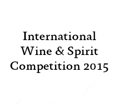 International Wine & Spirit Competition 2015